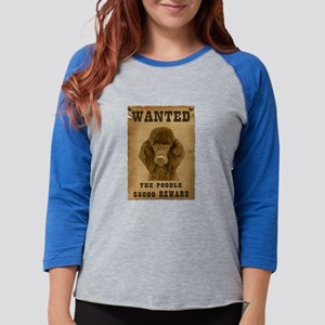 4-Wanted _V2 Womens Baseball Tee