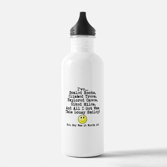 Lousy Smiley Water Bottle