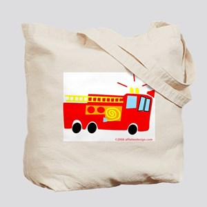 Wee Fire Truck! Tote Bag