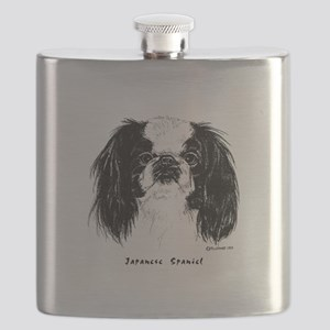 Japanese Spaniel Flask