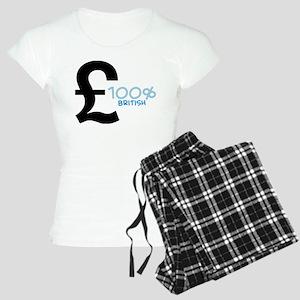 100% British Women's Light Pajamas