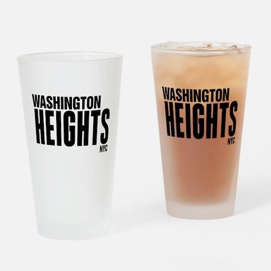 Washington Heights NYC Drinking Glass