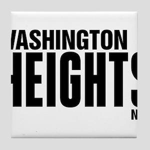 Washington Heights NYC Tile Coaster