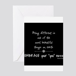 Being Different Greeting Card