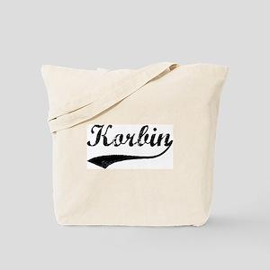 Vintage: Korbin Tote Bag