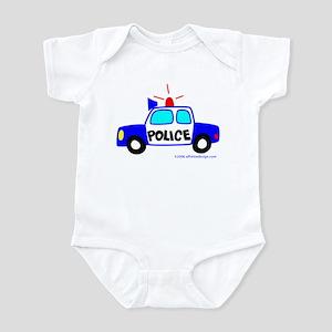 Wee Big Police Cruiser! Infant Bodysuit