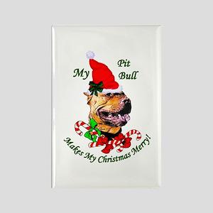 American Pit Bull Terri Rectangle Magnet (10 pack)