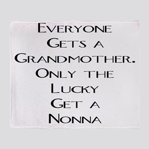 Nonna Throw Blanket