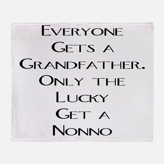 Nonno Throw Blanket