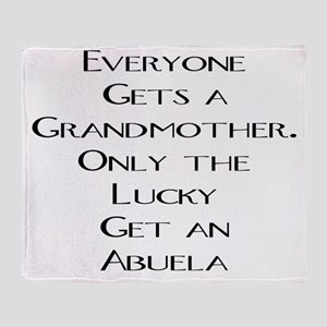 Abuela Throw Blanket