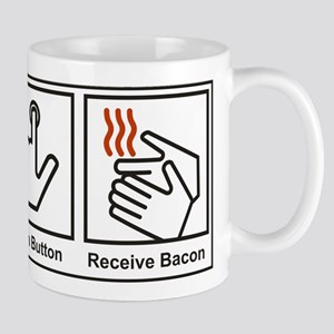 Push Button, Receive Bacon Mug