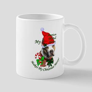 Pit Bull Christmas 11 oz Ceramic Mug