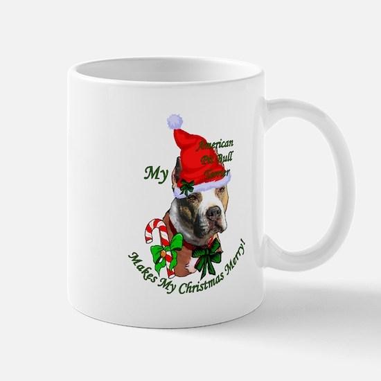 Pit Bull Christmas Mug