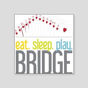 """Bridge Square Sticker 3"""" x 3"""""""