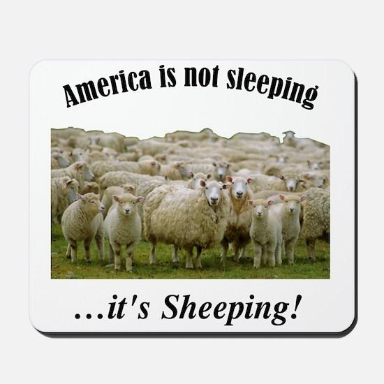 ....Sheeple! Mousepad