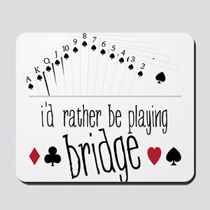Playing Bridge Mousepad