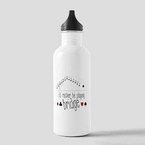 Playing Bridge Stainless Water Bottle 1.0L