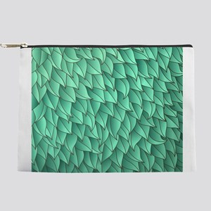 Abstract Leaves Makeup Pouch