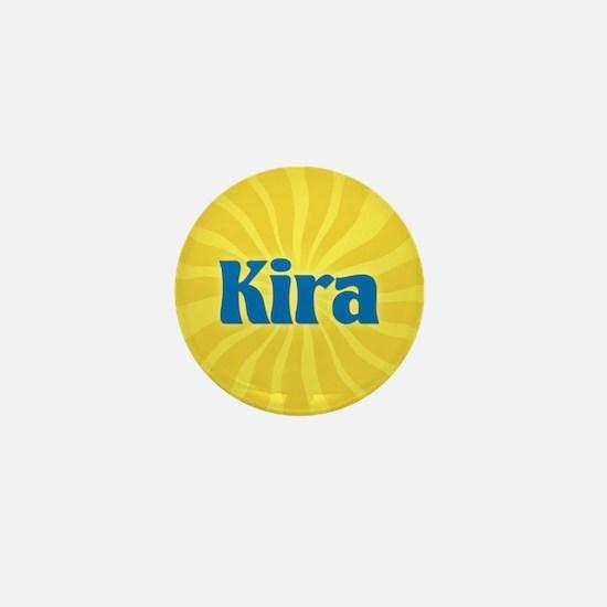 Kira Sunburst Mini Button