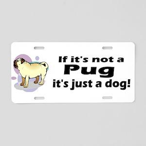 Pug Bumper Aluminum License Plate