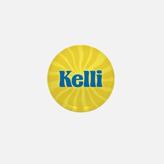 Kelli Sunburst Mini Button