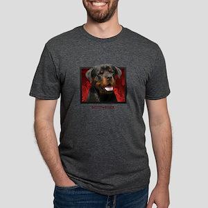 4-redblock Mens Tri-blend T-Shirt