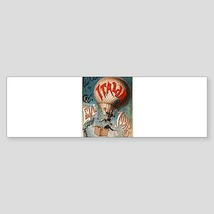 italian poster Sticker (Bumper)