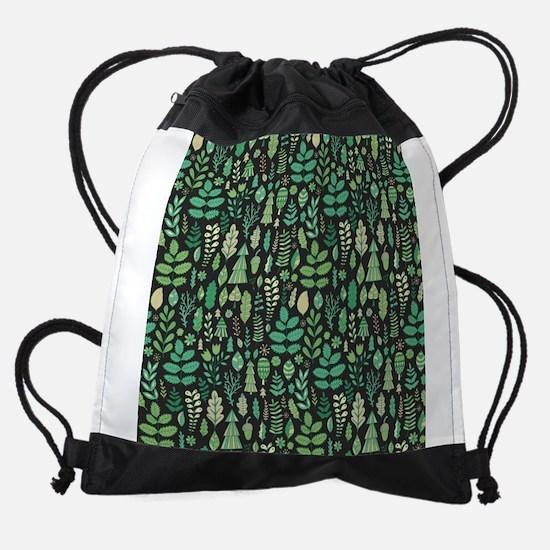Forest Pattern Drawstring Bag
