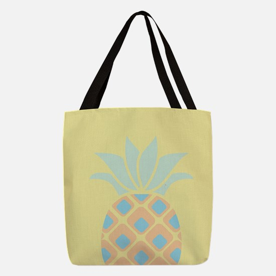 Pineapple Polyester Tote Bag