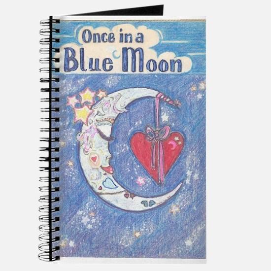 Cute Once blue moon Journal