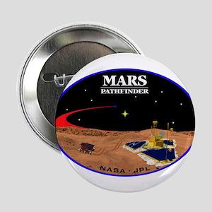 """Mars Pathfinder 2.25"""" Button"""