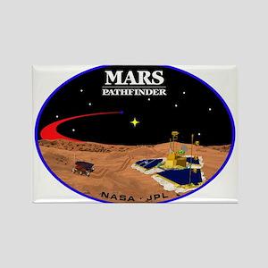 Mars Pathfinder Rectangle Magnet