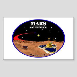 Mars Pathfinder Sticker (Rectangle)