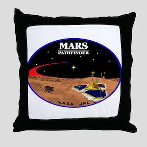 Mars Pathfinder Throw Pillow