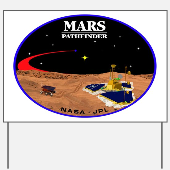 Mars Pathfinder Yard Sign