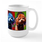 Poodle pop Art Mug
