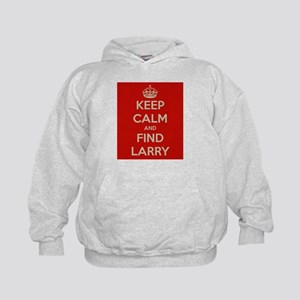 Keep Calm and Find Larry Kids Hoodie