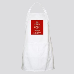 Keep Calm and Find Larry Apron