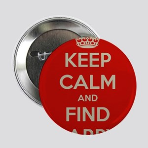"""Keep Calm and Find Larry 2.25"""" Button"""