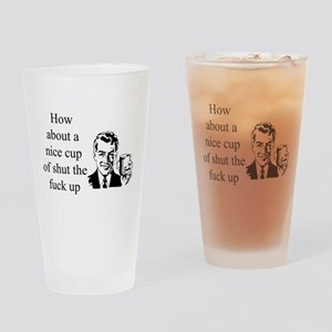 A Nice Cup Of... Drinking Glass