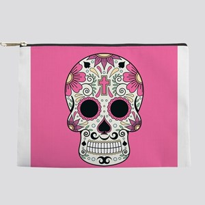 Sugar Skull Makeup Pouch