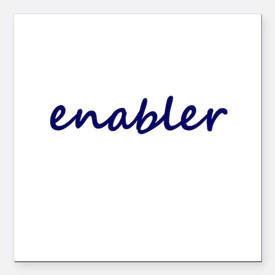 """Enabler Square Car Magnet 3"""" x 3"""""""
