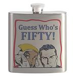50th Birthday Flask