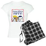 50th Birthday Women's Light Pajamas