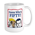 50th Birthday Large Mug