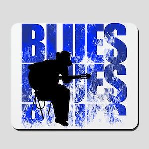 blues guitar Mousepad