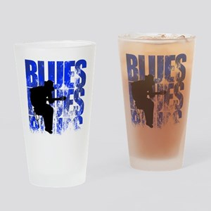 blues guitar Drinking Glass