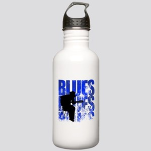 blues guitar Stainless Water Bottle 1.0L