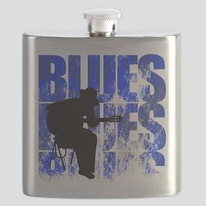 blues guitar Flask
