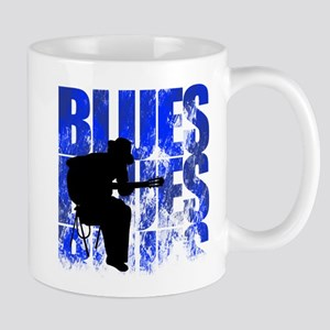 blues guitar Mug